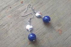 Hey, I found this really awesome Etsy listing at https://www.etsy.com/listing/234374072/blue-lapis-lazuli-and-silver-drop
