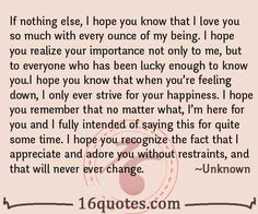 33 Best I Love You So Much Quotes images in 2016 | Love Quotes
