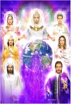 The Hierarchs of The Seven Rays