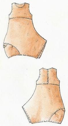 Lagenlook Einzel - Schnittmuster für Kleid Pompeji - Schnittmuster Kleider + Röcke by creativ-production - Dresses & Aprons - Sewing Patterns - DaWanda