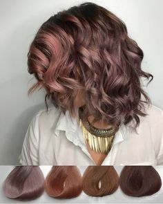 Chocolate mauve. Possibly one of the coolest colors I've done. : FancyFollicles