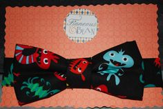 Boy's Bow Tie Monsters $12.99
