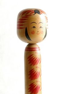 Japanese wooden doll -kokeshi-