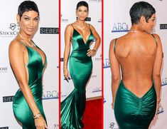 Socialite Nicole Murphy, is officially off the market. MTO News learned that Eddie Murphy's ex now has a new boyfriend - former NBA star Jimmy Jackson, Eddie Murphy, Celebrity Fashion Looks, Celebrity Style, Most Beautiful Black Women, Tapered Natural Hair, Fit Black Women, Black Goddess, Queen, Beautiful Outfits