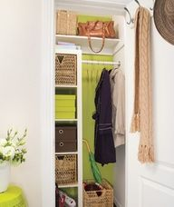 Great Entry Closet Makeover!