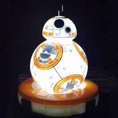 Light Action Figure Star Wars The Force Awakens BB8 BB-8 Droid Robot Action Figure Toys For Kid Gift