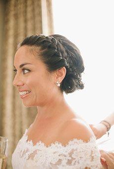 Romantic Braided Wedding Updo | Wedding Hairstyle