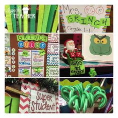 Another Grinch Day is in the books! A few Insta fans asked me to explain, so in a nutshell. The Grinch visits our classroom one day each December and leaves a lot of GREEN in his path. It's a rea