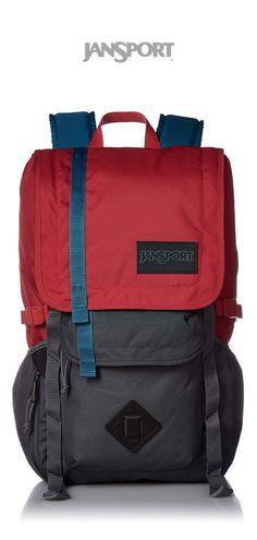 JanSport Hatchet Backpack   Forge Grey Red Tape   Click for More JanSport  Backpacks! Бюрократизм 35ebf476afd