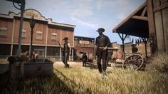 Wild West Online showcases bounties saloons forested...