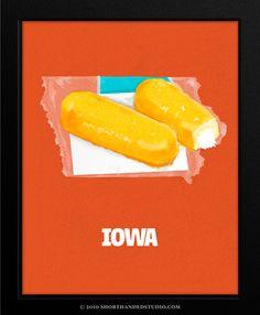 Cool idea I just wish Iowa wasn't a twinkie...