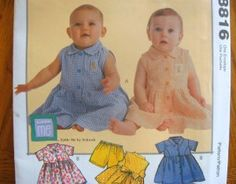 cCALLS Sewing Pattern 8816 -INFANT -