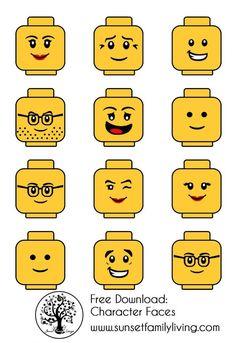 ideas for birthday party boy themes lego Lego Ninjago, Ninjago Party, Lego Minifigure, Lego Themed Party, Lego Birthday Party, 6th Birthday Parties, Lego Parties, Cake Birthday, Yellow Birthday