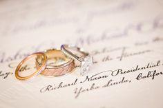 A Purple American History Inspired Wedding