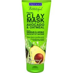 (Freeman) Feeling Beautiful Facial Clay, Avocado & Oatmeal Mask... Cost: $3.05 Walmart.com
