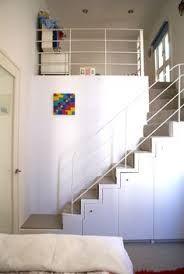 London-based architects with project all over the capital Mezzanine Loft, Mezzanine Bedroom, Micro Apartment, Loft Studio, Small Bedroom Designs, Attic Spaces, Interior Stairs, Floor Design, Decoration