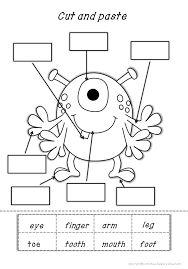 Resultado de imagen de how to draw human body worksheet