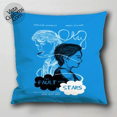 the fault in our stars d pillow case, cushion cover ( 1 or 2 Side Print With Size 16, 18, 20, 26, 30, 36 inch )