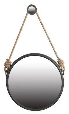 Fanny Round Accent Mirror