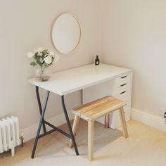 Scandinavian dressing table, ikea