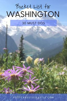 Creating a Washington State bucket list? Here are 30 of the best things to do in Washington that you'll want to experience! Washington bucket list | unique things to do in Washington State | best kept secrets in Washington State | #WashingtonState #travel