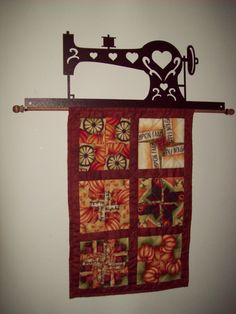 Great quilt hanger!