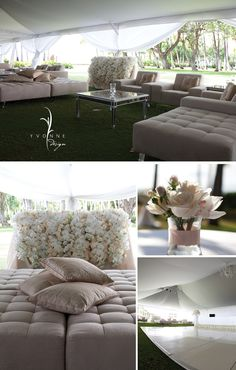 I'll probably never have one this nice but this kind of chill spot would be awesome for an outdoor wedding.