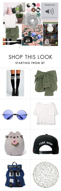 """""""Untitled #67"""" by batmanlover-795 ❤ liked on Polyvore featuring Boohoo, Faith Connexion, INDIE HAIR, MANGO, Trukfit and Arteriors"""