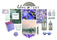 """Lilac and Mint"" by merryplant ❤ liked on Polyvore featuring interior, interiors, interior design, home, home decor, interior decorating, Pier 1 Imports, Trademark Fine Art, Chronicle Books and Rifle Paper Co"