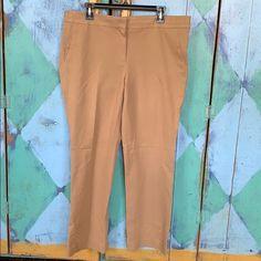 J. Crew Pants | Jcrew Size 14 Campbell Style | Poshmark Foxy Brown, Size 14, J Crew, Pants For Women, Khaki Pants, Style, Fashion, Swag, Moda