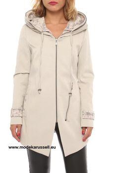 Damen Trench Coat Irmela Weiss