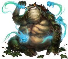 No.555 巨蟾異獸 The Amorphous Toad #神魔之塔 #神魔_遠古的恐懼