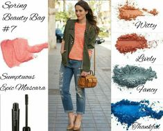 Spring Beauty Bag! Love this combo