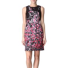 Floral print shift dress - RED VALENTINO