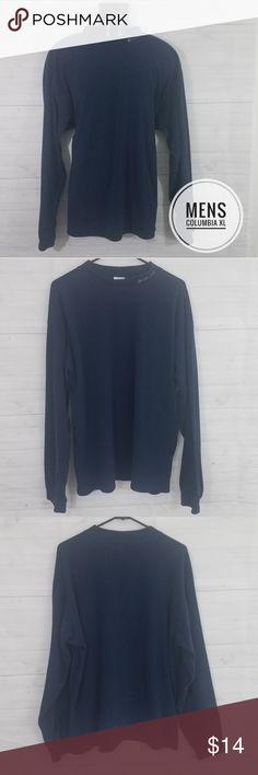 c27b9c62d5222f Mens XL Columbia Navy Fleece Pullover Size Mens XL Brand Columbia Navy Blue  Fleece Pullover Columbia
