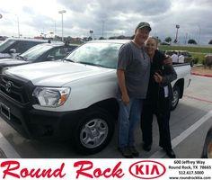 #HappyAnniversary to Nancy Smith on your new car  from Fidel Martinez at Round Rock Kia!