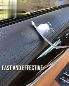 Diy Home Cleaning, Car Cleaning Hacks, House Cleaning Tips, Renovation Cuir, Camper Renovation, Cool Gadgets To Buy, Car Gadgets, Cute Car Accessories, Leather Repair