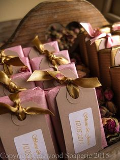 25 Natural soap wedding favours, party favours, christening gifts, baby shower gifts, handmade to order and wrapped to your requirements. Handmade Wedding Favours, Soap Wedding Favors, Soap Favors, Handmade Soaps, Party Favors, Wedding Gifts, Baby Christening Gifts, Wedding Confetti, Baby Shower Gifts