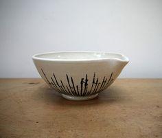silver birch pouring bowl