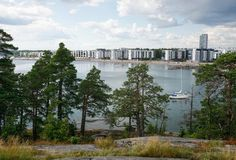Photo, Pertti Nisonen. Vuosaari, Helsinki by sea
