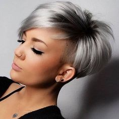 26 Pixie Hairstyles Don't Care About Your Hair Type Feel insecure about your hair type? Check out the trendy pixie hairstyles that will sort things out. See how you can make your styling routine easier! Trending Hairstyles, Short Hairstyles For Women, Cut Hairstyles, Casual Hairstyles, Straight Hairstyles, Medium Hair Styles, Curly Hair Styles, Pixie Cut Wig, Short Pixie Hair