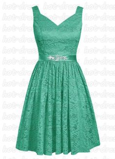New-Stock-Chiffon-Lace-Short-Prom-Party-Evening-Gowns-Wedding-Bridesmaid-Dresses