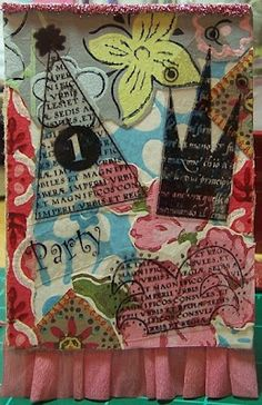 Under the Red Roof - collage diy art - Today's Creative Blog 2007
