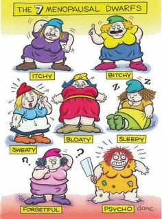 This is me already... god knows what I am going to be like when I do hit the Menopause! Lol