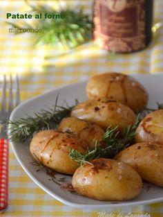Patate al forno microonde
