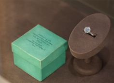 Introduced in 1854, the Tiffany Blue Box® is a symbol of excellence. This rare box notes Tiffany's winning the grand prize for jewelry at the 1878 Paris World's Fair.