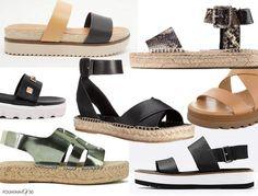 Summer Sandal Trend: The Flatform Sandal
