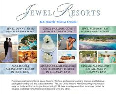 #DestinationWeddings available at #TLCTravels' Tours & Cruises! #Jamaica