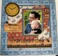 Grandpa's Boy - Scrapbook.com