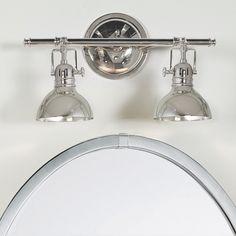 Fresnel Glass Restoration Bath   4 Light   Of  Shades and Lights. Contemporary Urban Bath Vanity Light. Home Design Ideas